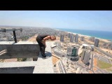Маленькое падение - чуть не сорвался с высоты 150 метров