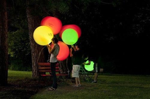 Светодиодные воздушные шарики -