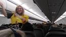 World's Funniest Flight Attendant Leaves Passengers In Hysterics