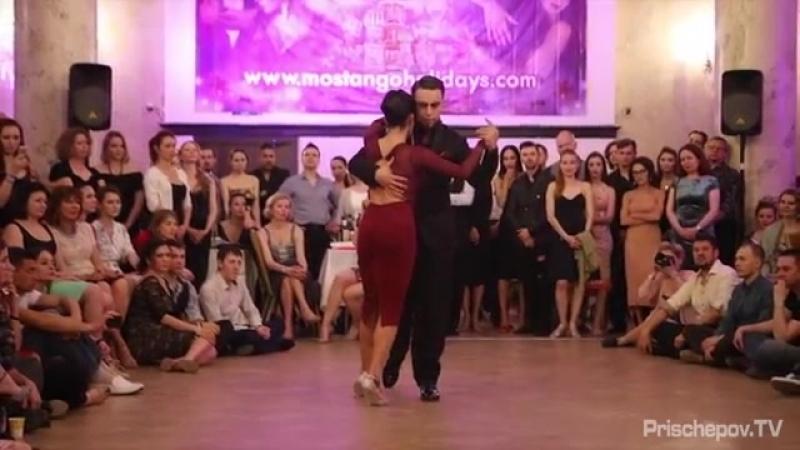 Clarisa Aragón Jonathan Saavedra, (Аргентина), 4, Moscow Tango Holidays 2018