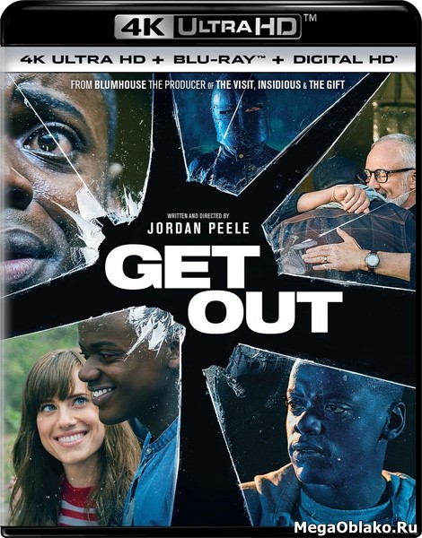 Прочь / Get Out (2017) | UltraHD 4K 2160p