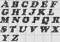алфавит вышивание.