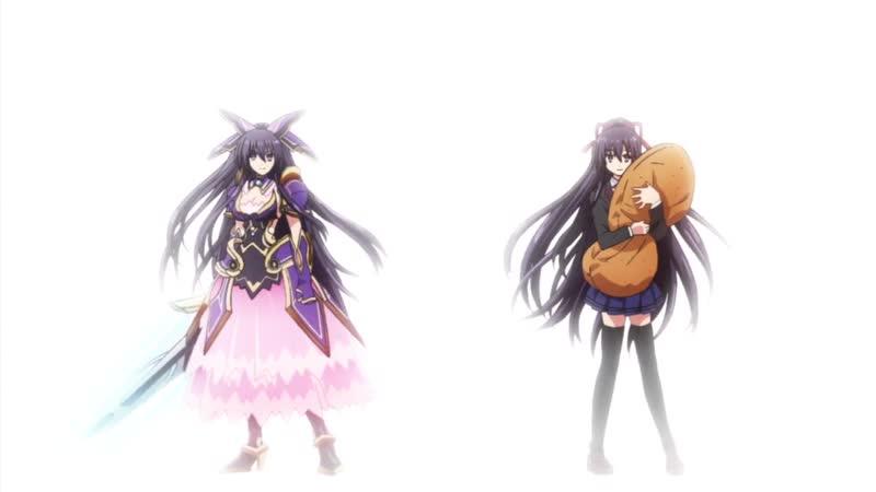 [AnimeOpend] Date A Live III (TV-3) 1 ED | Ending / Рандеву с жизнью (ТВ-3) 1 Эндинг (720p HD)