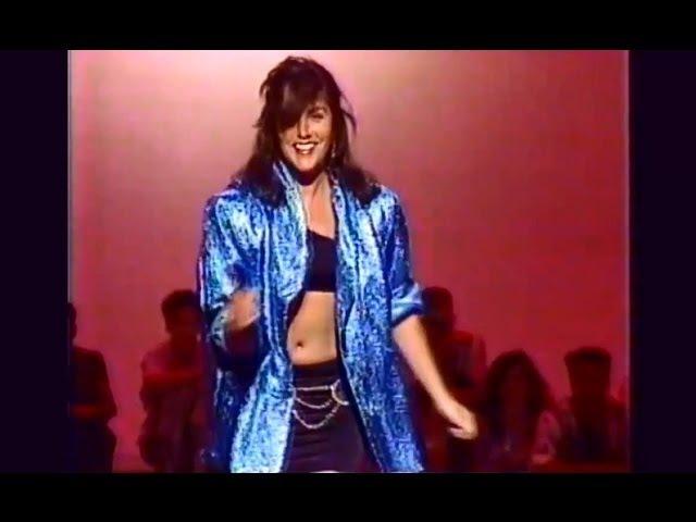 Laura Branigan - Spanish Eddie, interview [cc] and Hold me 1985
