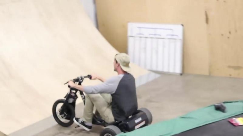 [Braille Skateboarding] NEWEST BRAILLE WALLRIDE! KEEN RAMPS!