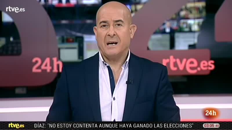 Noticias TVE 24h M-4-12-18 Moisés Rodriguez Disturbios Francia, Cumbre Clima, Andalucía, Modric vlc-record-2018-12-04-03h00m48s