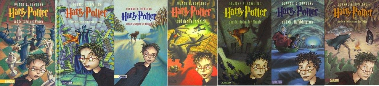 Гарри Поттер в интерпретации издательств разных стран