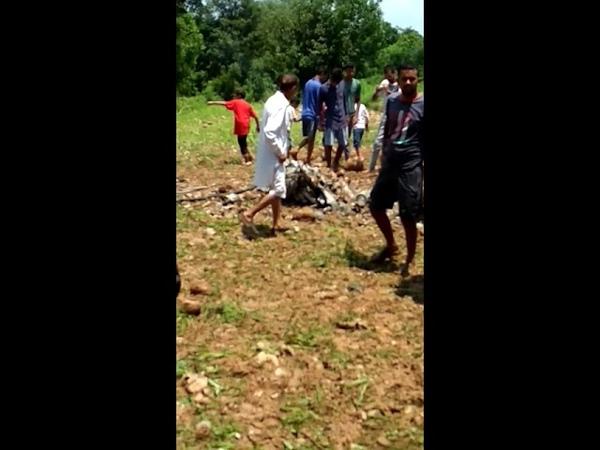 Himachal: A MiG 21 fighter jet crashes in Kangra