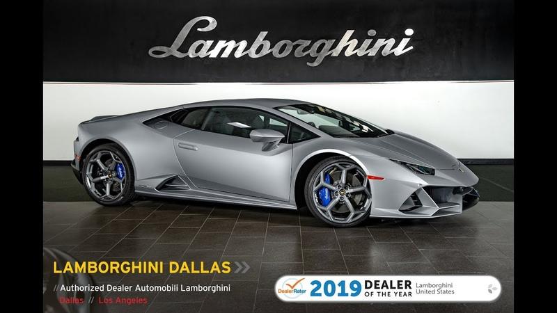 2020 Lamborghini Huracan EVO Grigio Artis 20L0199
