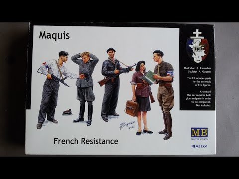 Master Box Maquis French Resistance review