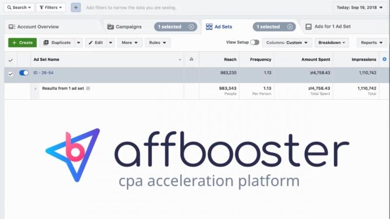 AffBooster Spend Proof 100k