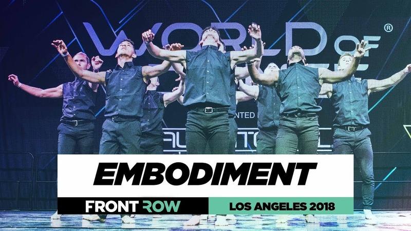 Embodiment | FrontRow | World of Dance Los Angeles 2018 | WODLA18