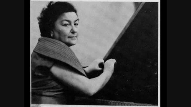Maria Grinberg plays Mendelssohns Fantasy fis moll op 28