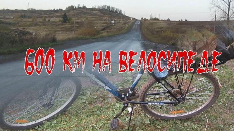 От Янаула до Перми и обратно на велосипеде. Одиночный велопробег на 600 км. Дикобраз