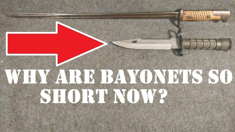 Why Have Bayonets Become Shorter Over the Years?