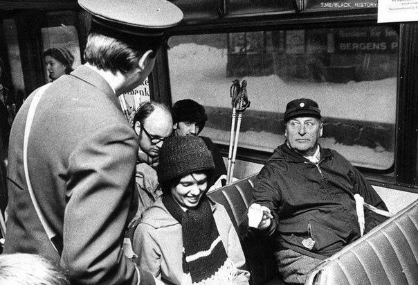 Фото из общественного транспорта. 1973 г.