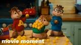 Элвин и бурундуки 2 (2009) - Сырные шарики (17) movie moment