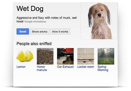 Google Nose Все первоапрельские шутки 2013 года