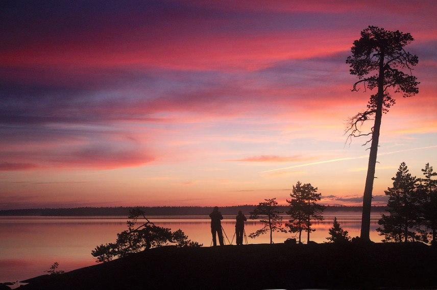 «Ловцы снов», северная Карелия, Энгозеро. Автор – Алексей Харитонов