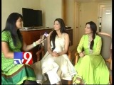 Its a wonderful experience to meet Telugu fans@ NATS says Agarwal sisters - USA - Tv9 exclusive