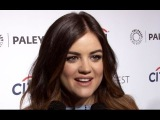 Lucy Hale, Ian Harding, &amp I. Marlene King on #Ezria, Pretty Little Liars' Rockiest Romance