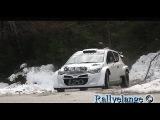 Test / Essais Rallye Monte Carlo 2014 - Thierry Neuville - Hyundai i20 WRC [HD - Pure sound]