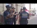 ABUS DE POUVOIR POLICE MUNICIPALE INTERDIT LE T SHIRT BDS Palestine