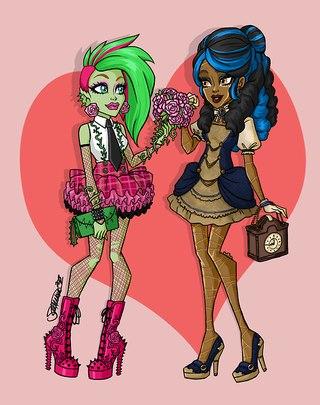 куклы монстр хай я люблю моду