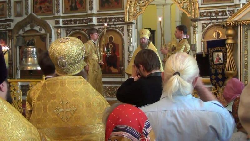 Первое посещение Митрополитом Тверским и Кашинским Саввой Богоявленского собора В-Волочек