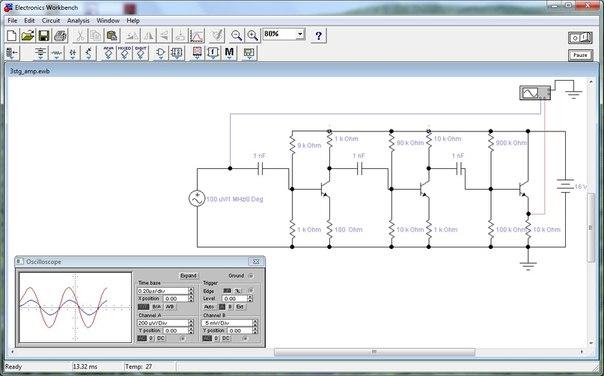 программа для моделирования электронных схем img-1