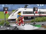 LEGO CITY пассажирский поезд