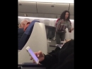Бухая Бузова в самолёте