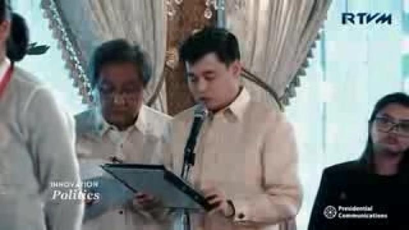 President Duterte _Nag-dab pose_ kasama si Asian G.mp4