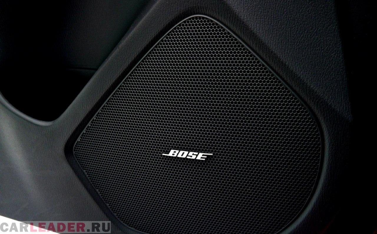Кто бы мог подумать, что за невзрачными решетками скрываются такие мощно звучащие вуферы Bose?