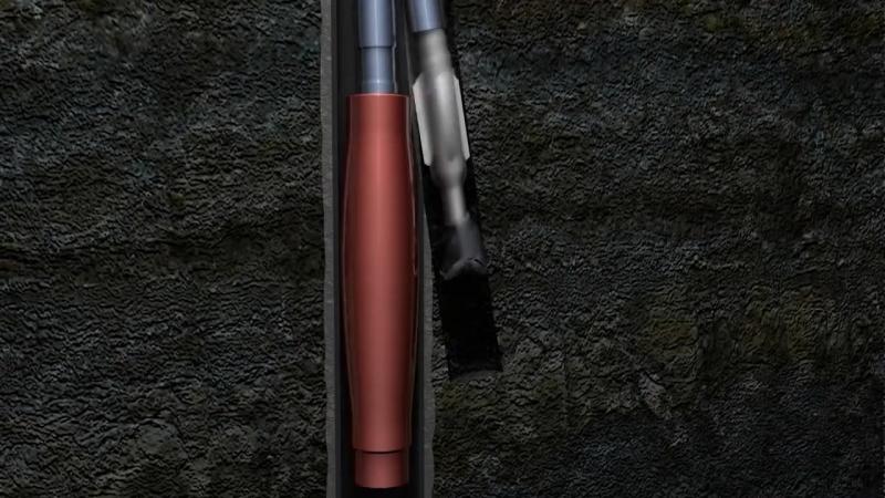 3d анимация бурения нефтяной скважины