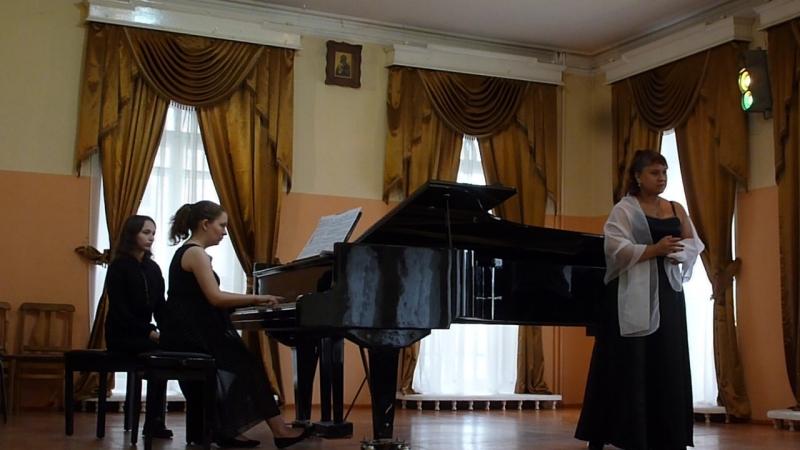 Римский-Корсаков, опера Царская невеста - Речитатив и ариетта Любаши из 1-го действия