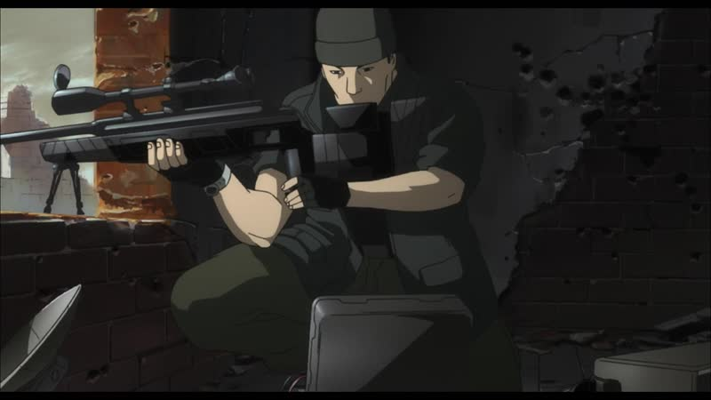 Koukaku Kidoutai S.A.C. 2 Ep 14 snipers theme