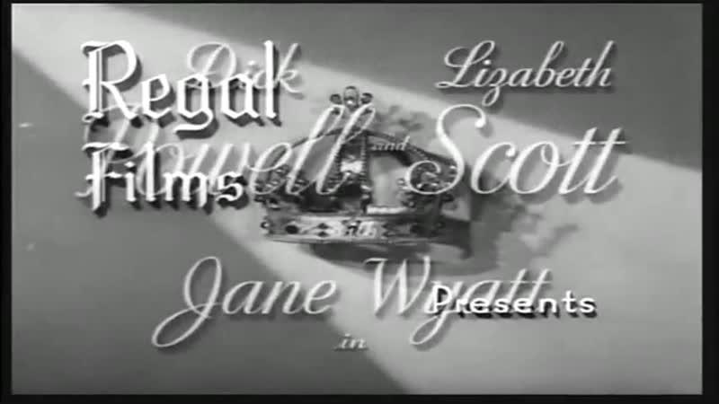 Caminho da Tentação 1948 Leg com Dick Powell, Lizabeth Scott, Jane Wyatt