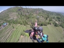 Paragliding at Nepal Pokhara April 2017