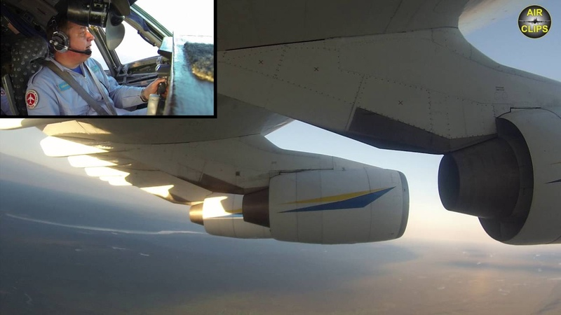 MUST SEE! SIX ENGINES, WORLD'S BIGGEST! An-225 Mriya 600TONS! Multicam, COCKPIT VIEW [AirClips]