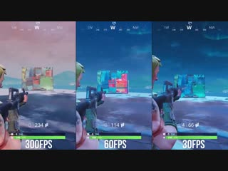 It turns out playing Fortnite at 30fps puts you at a disadvantage