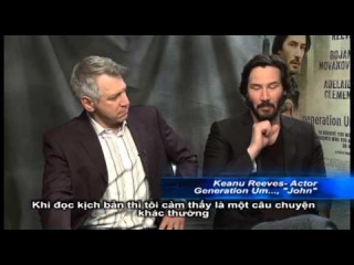 Director MARK L. MANN & actor KEANUE REEVES talk 'Generation UM' production
