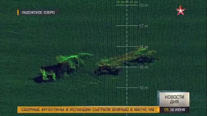 Исследователи создают 3D-карты дна Ладожского озера по маршруту Дороги жизни