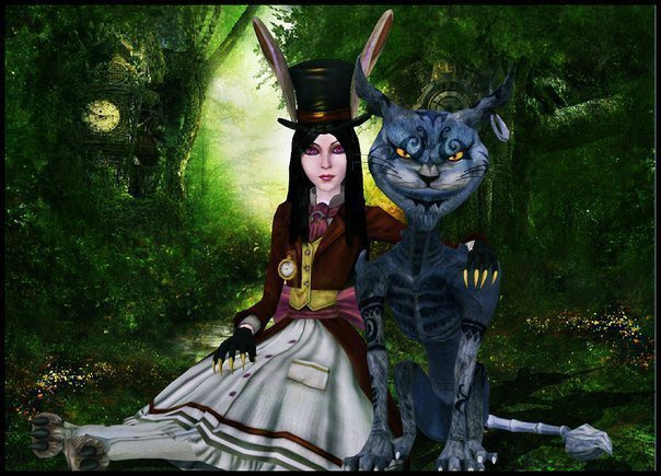 Алиса в стране кошмаров vk