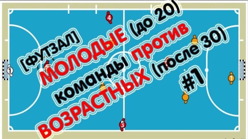 КАК ИГРАТЬ ПРОТИВ ВОЗРАСТНОЙ КОМАНДЫ | футзал минифутбол тактика futsalico