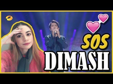 DIMASH - SOS D'UN TERRIEN EN DÉTRESSE (REACT/REAÇÃO)