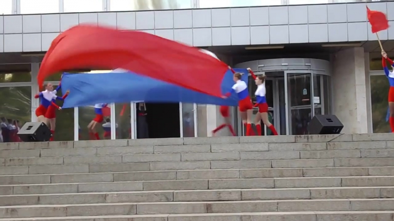 Танец,,Мы дети твои Россия