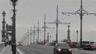 Снежный Санкт - Петербург на Крещение. 19 января 2019 г.