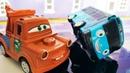 Щенячий Патруль и машинки Тачки мультики с игрушками для детей! Автобус Тайо развивающие мультики