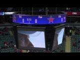 khl СКА - Лев (2013.10) Гол. Виктор Тихонов (СКА) удачно подставил клюшку на дальний выстрел Калинина (СКА) и всё-таки открыл счёт в сегодняшнем матче (1:0).